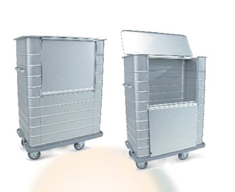 Trolleys For Dirty Linen Transport