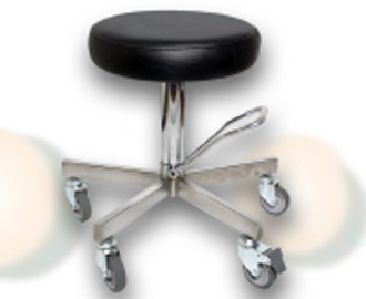 Adjustable Stool Stainless Steel 1