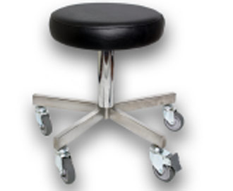 Adjustable Stool Stainless Steel 2